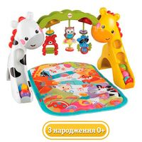 Фото Игровой центр 3в1 Fisher-Price Растем вместе CCB70