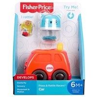 Фото Игрушка Fisher-Price Зверушка в машине FVC74-1